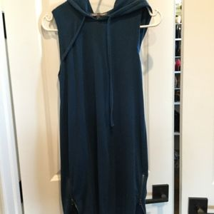 Threads for Thoughts sleeveless hooded dress